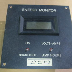 APC ENERGY MONITOR